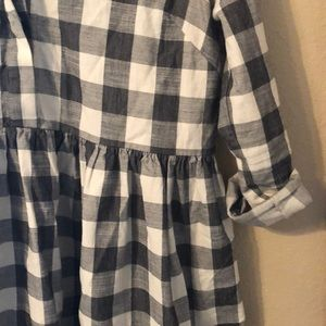ASOS Dresses - ASOS plaid  babydoll dress